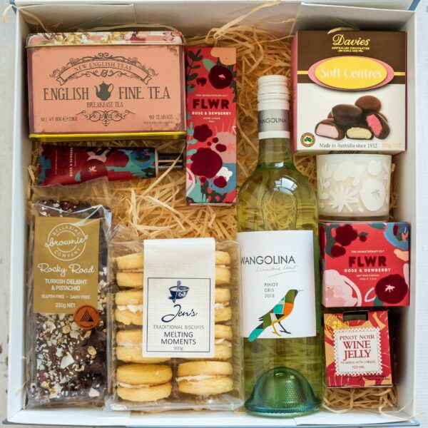 Darriwill Farm Warrnambool hampers - My Favourite Things boxed